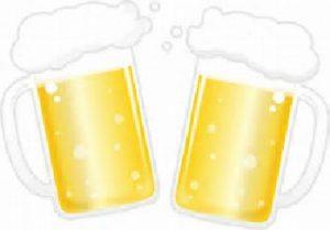 平日限定60分間ビール飲み放題